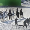 New Wonder Woman Set Photos Tease Conflict On The Sun-Kissed Isle Of Themyscira