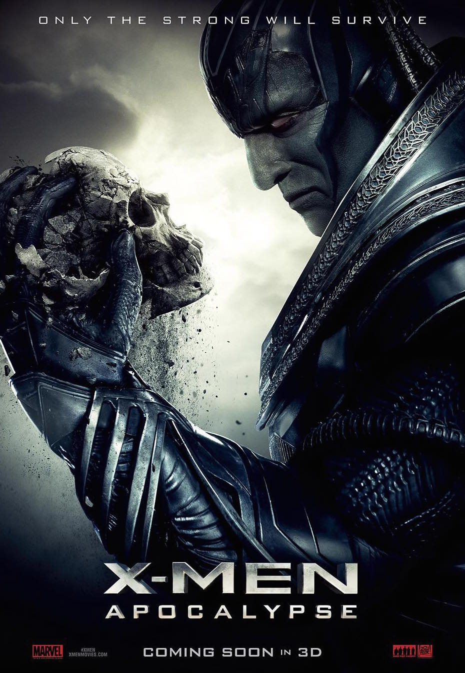 [Updated] Stylish X-Men: Apocalypse Character Posters Tease A Mythic Power