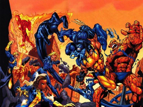 Fox Reportedly Working On A Fantastic Four Versus The X-Men Movie