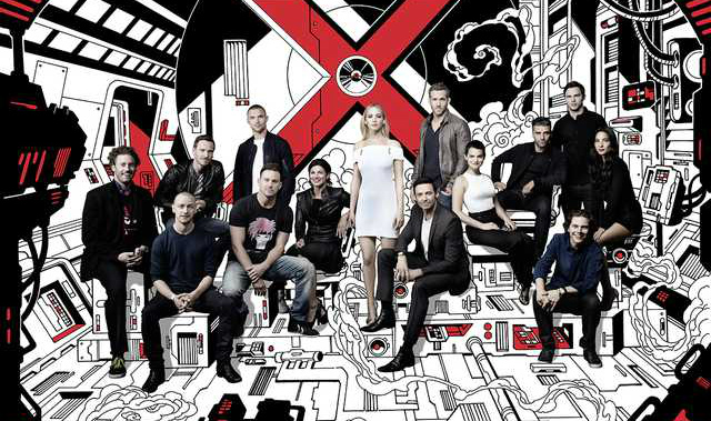 Deadpool And Gambit Unite With The X-Men Family In New Group Photo