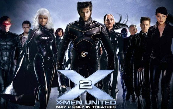 X Men 2 Poster 569x360 We Got This Covereds Top 50 Comic Book/Superhero Movies