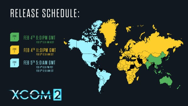 XCOM 2's Exact Release Times Confirmed In New Promo Image