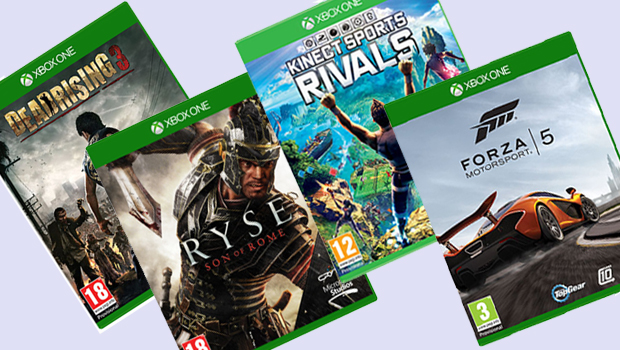 Xbox One Games Priced Between £45-£55 Over On Microsoft Store