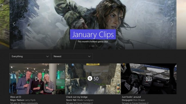 First Major Xbox One System Update Of 2016 Detailed; Gamerscore Leaderboard, Tweaked Party Features Inbound