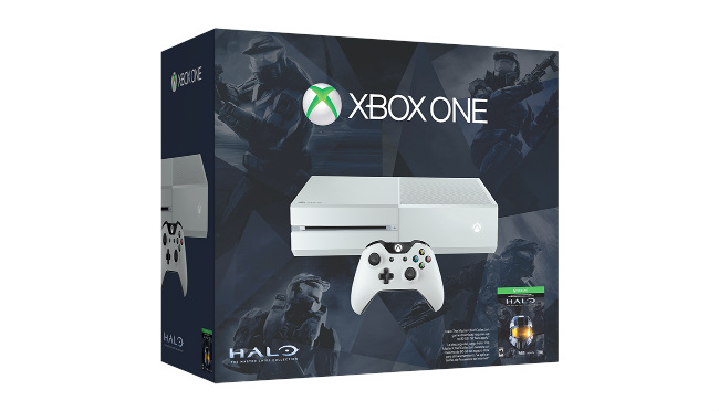White Xbox One Returns In All-New Halo: The Master Chief Collection Bundle