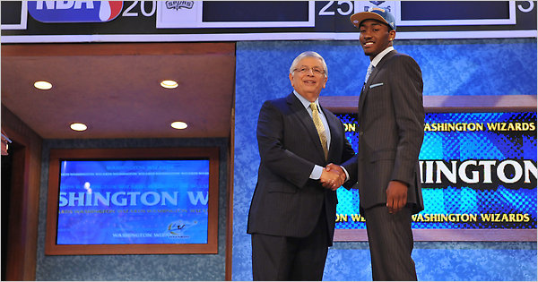 John Wall Goes First Overall In NBA Draft