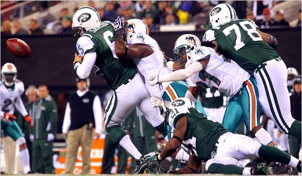 Wild 2010 NFL Season Keeps Getting Stranger