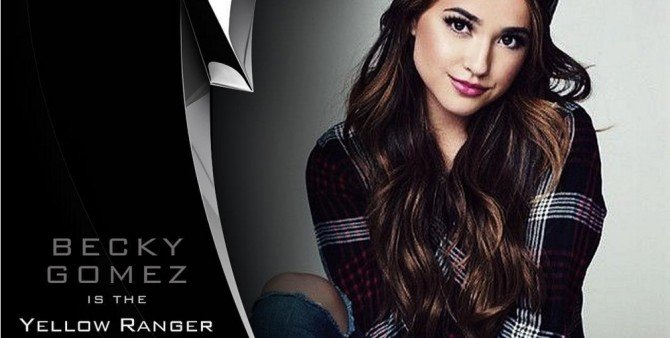 Becky Gomez To Play The Yellow Ranger In Big Screen Power Rangers Reboot