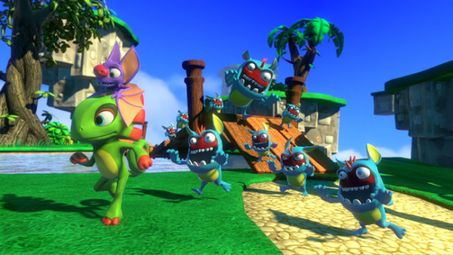 Yooka-Laylee Is Now The Fastest Video Game Project To Reach $1 Million On Kickstarter