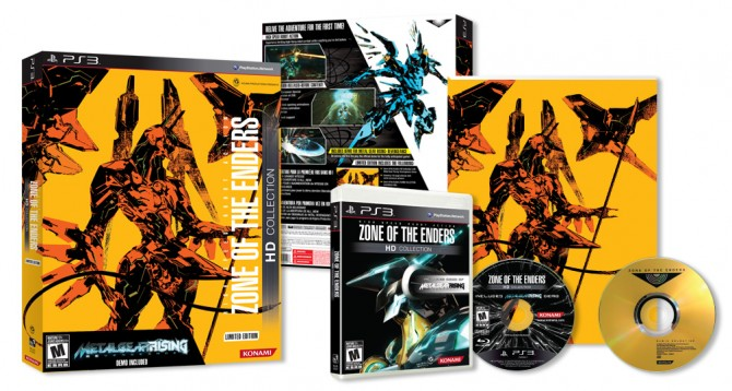 Konami Reveals Limited Editions For Metal Gear Rising And Zone Of The Enders HD