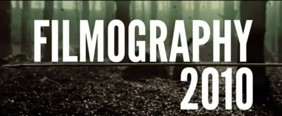 Filmography 2010: 270 Movies In 6 Minutes
