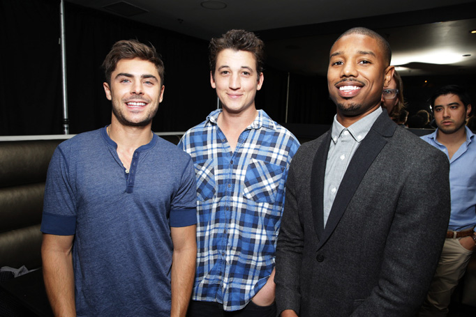 Zac Efron Michael B Jordan Miles Teller That Awkward Moment Event Rush CIty Culver City 10152013 01 That Awkward Moment Gallery