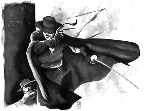 Sony Hires A Writer For Their Gritty, Dark Knight Inspired Zorro Reboot