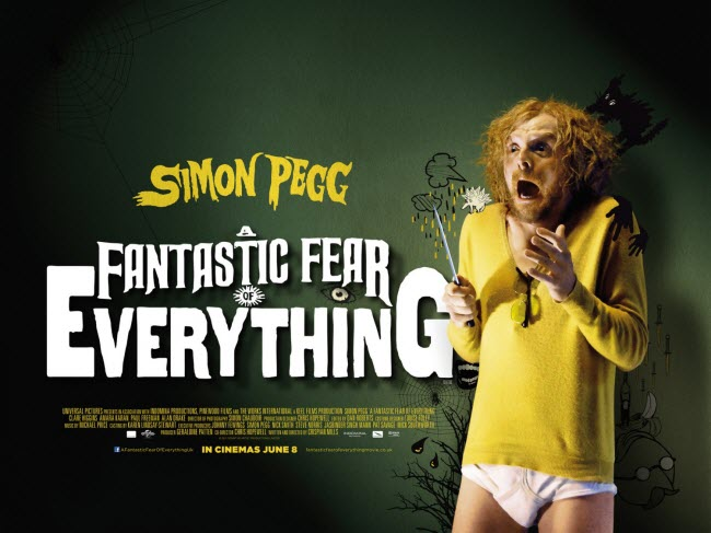 Simon Pegg Gets Paranoid In Trailer For A Fantastic Fear Of Everything