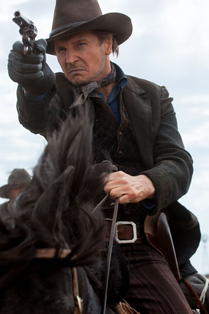 a million ways to die in the west liam neeson1 The West Is A Dangerous, Immature Place In New Clips And Pics From A Million Ways To Die In The West