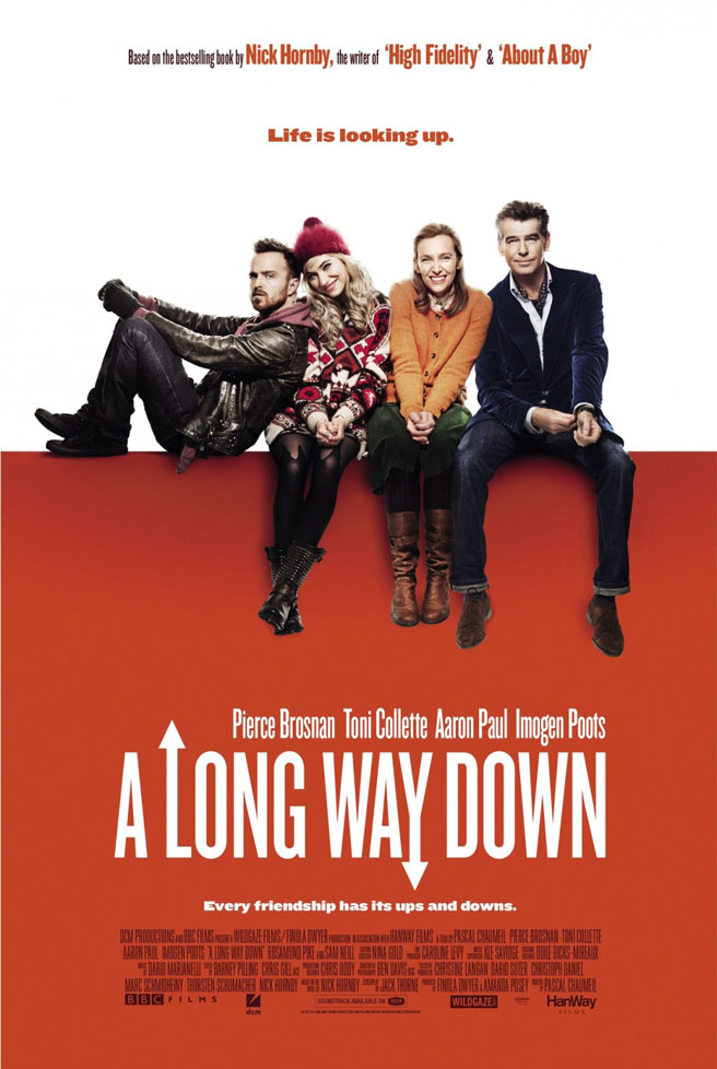 Trailer For A Long Way Down With Pierce Brosnan And Aaron Paul Plays Up The Schmaltz
