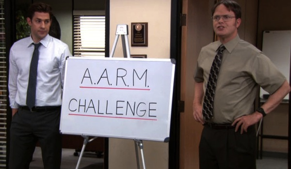 the office aarm
