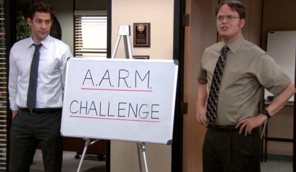 aarmchanged The Office: Top 10 Jim And Dwight Pranks