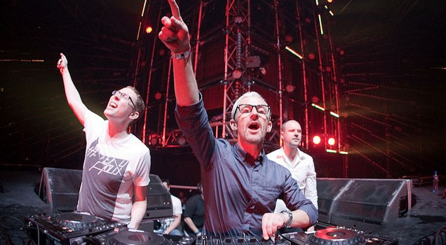 Above & Beyond Gear Up For Halloween In New York