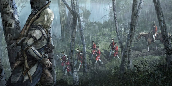 A First Look At In-Game Footage From Assassin's Creed III