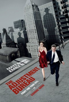 adjustment bureau movie poster 01 243x360 Two New Posters For The Adjustment Bureau