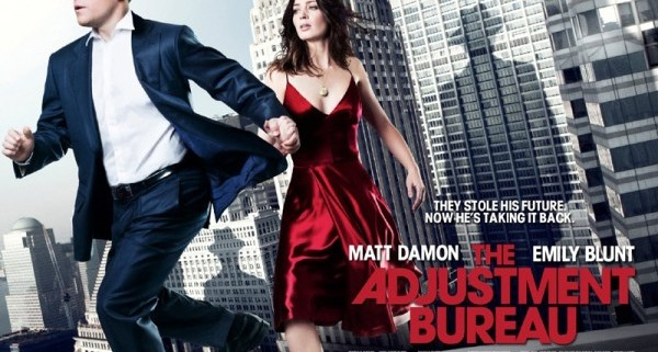 adustment bureau movie poster uk 01 600x448 600x321 Two New Posters For The Adjustment Bureau