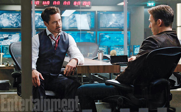 New Captain America: Civil War Image; Robert Downey Jr. Talks Playing Stark As The Bad Guy