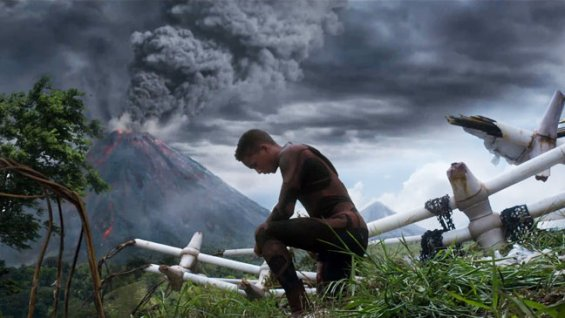 Jaden Smith, thinking about clouds.