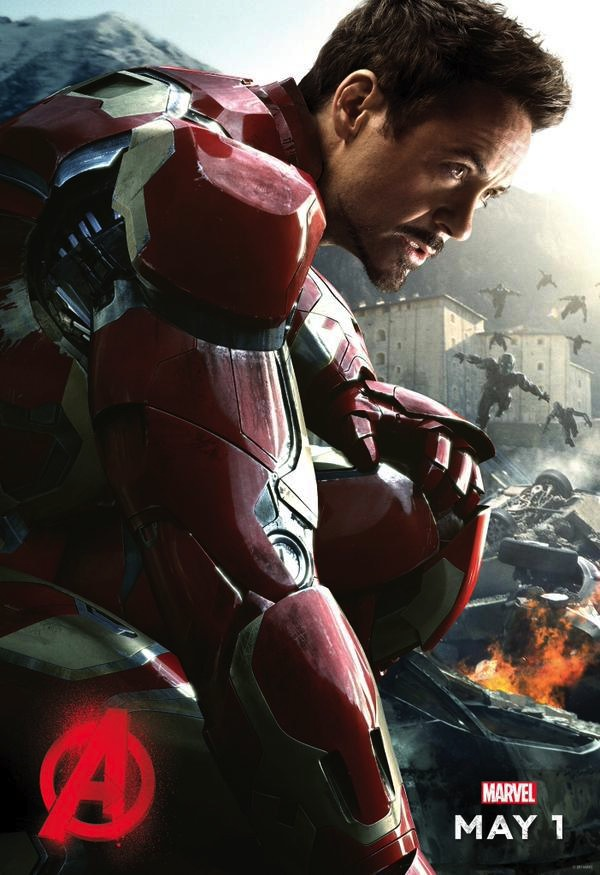 """First Avengers: Age Of Ultron Character Poster Arrives; Downey Jr. Teases """"Big Announcement"""""""