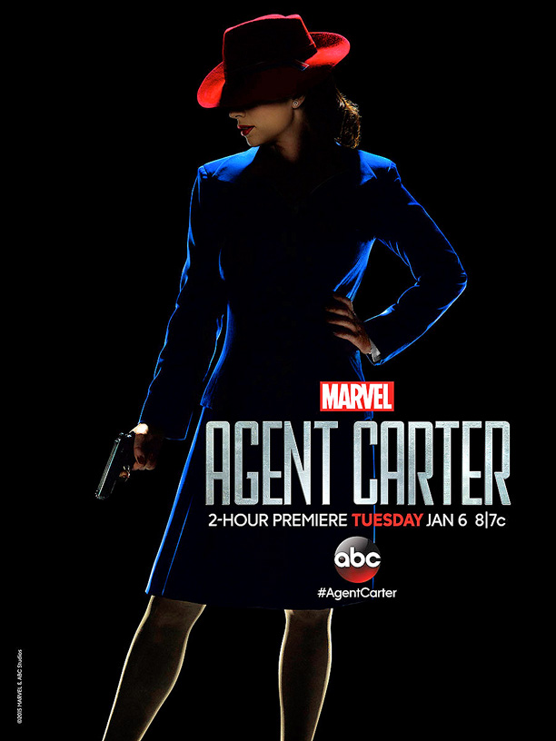 Hayley Atwell Channels Carmen Sandiego In New Agent Carter Poster