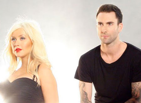 Maroon 5 Featuring Christina Aguilera - Moves Like Jagger