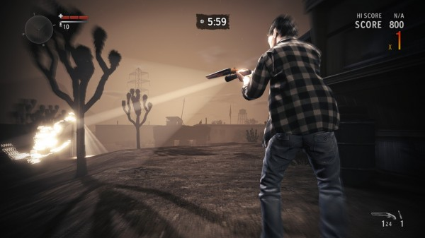 Grab Your Flashlight! Alan Wake's American Nightmare Has Launched