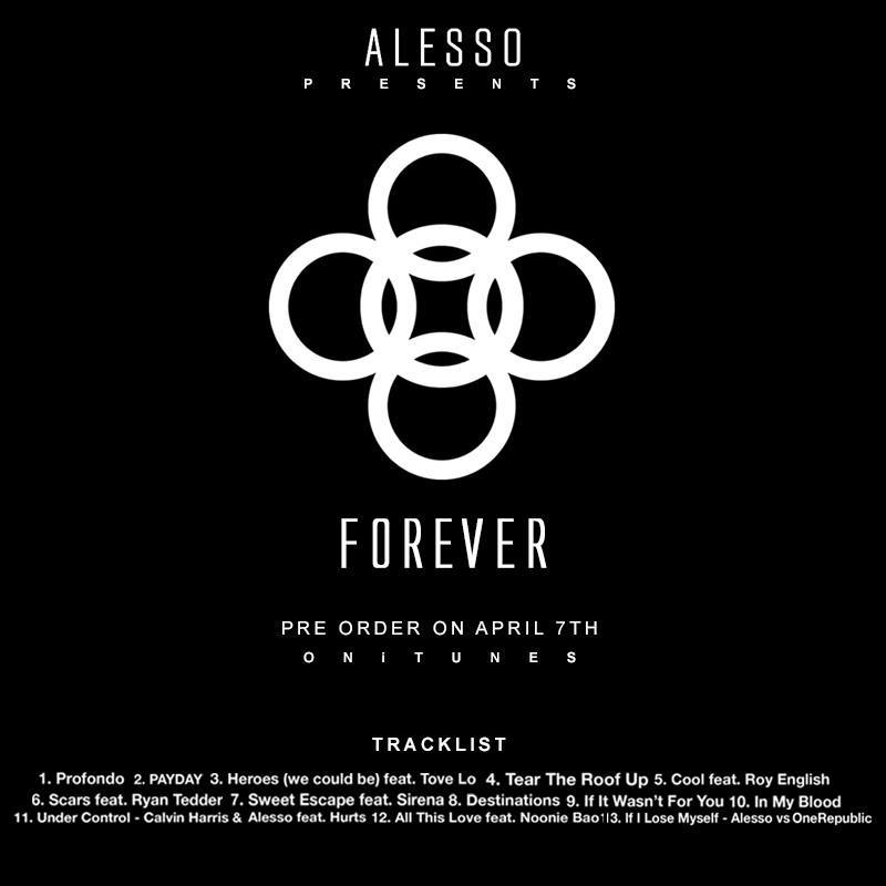 Alesso's Debut Album Will Be Titled Forever