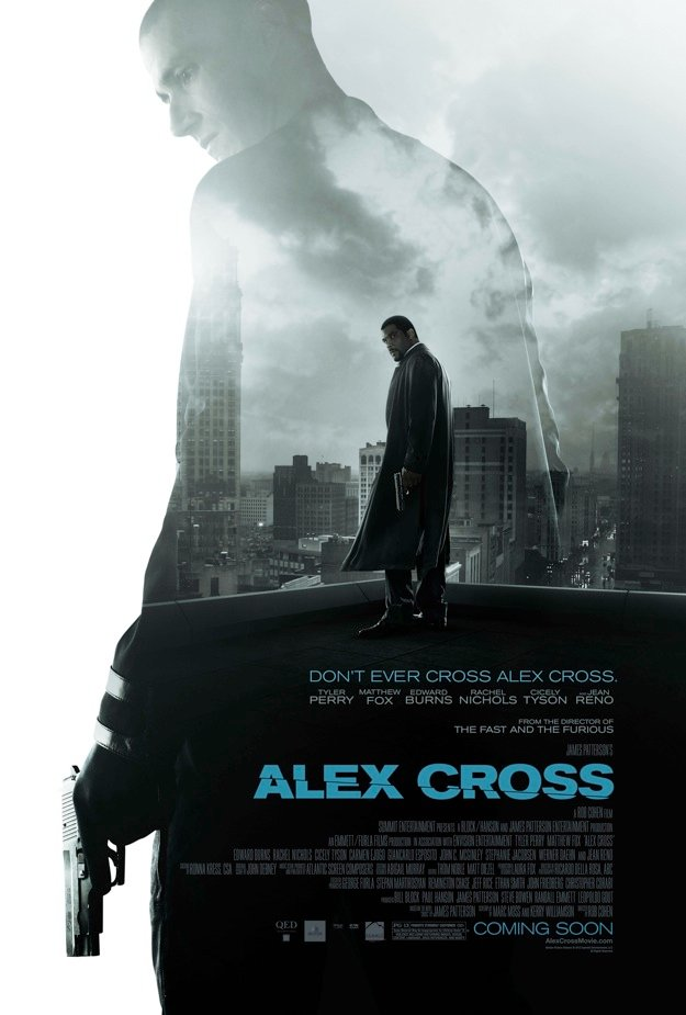 ALEX CROSS, CAZADOR DE PSICOPATAS