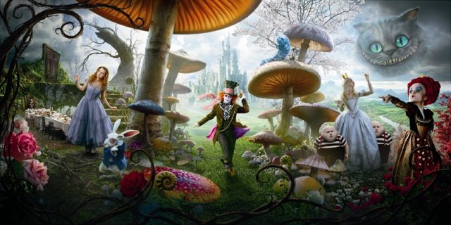 Johnny Depp To Return For Alice In Wonderland Sequel, Into The Looking Glass
