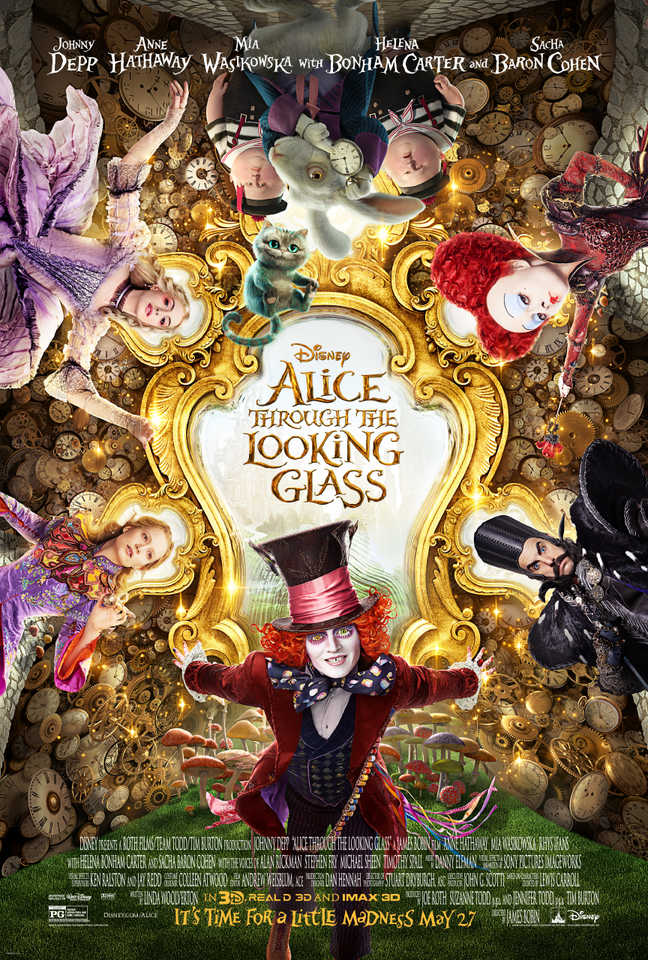 Latest Alice Through The Looking Glass Snippet Gives Chase To A White Rabbit