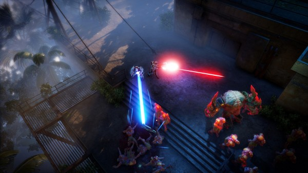 Bullets Fly And Aliens Fall In Intense Gameplay Trailer For Housemarque's Alienation