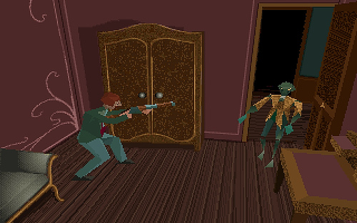 Atari To Reboot Alone In The Dark And Haunted House This Fall