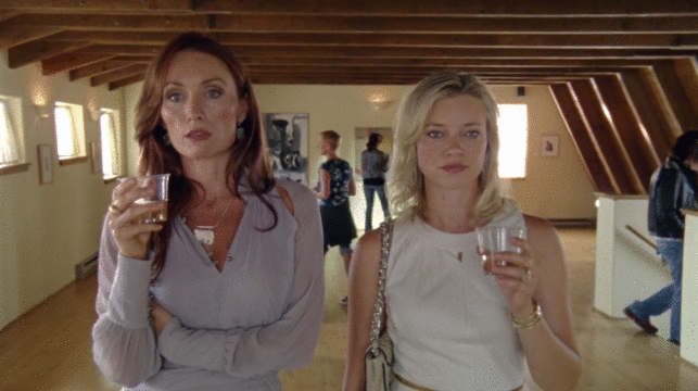 Amy Smart And Victoria Smurfit Talk Babies And Lost Love In Exclusive Among Ravens Clip