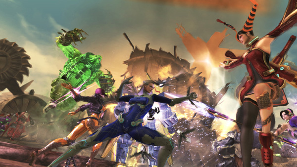 Anarchy Reigns Finally Heads West January 2013