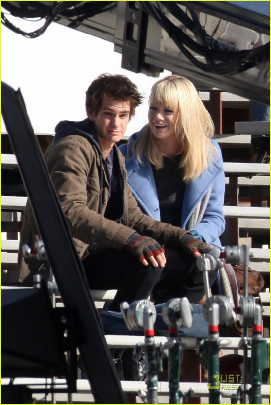 First Set Photos From Marc Webb's Spider-Man Reboot