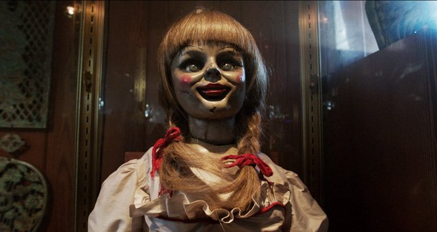 annabelle the doll the conjuring