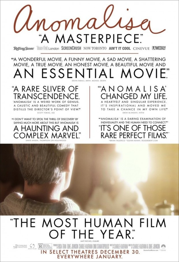 Charlie Kaufman Poses The Big Questions In Debut Trailer For Anomalisa