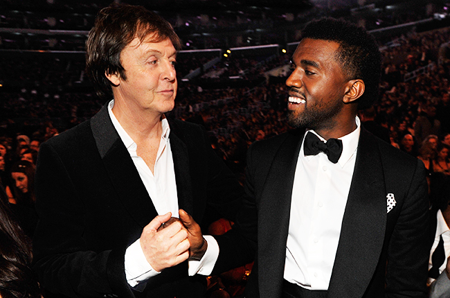 anye west and paul mccartney