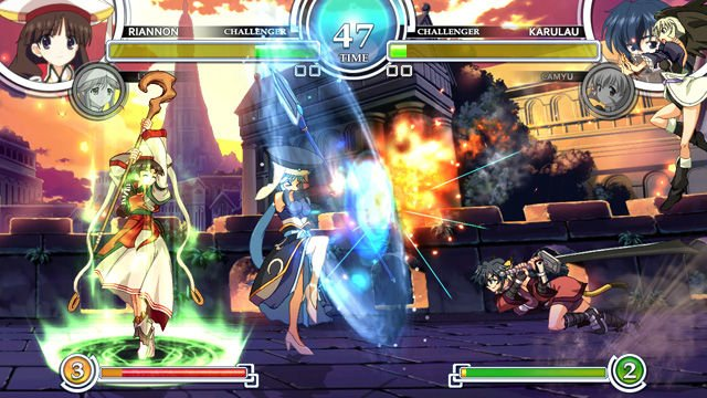 2D Arcade Fighter AquaPazza Coming To The PS3 This Holiday, Thanks Atlus!