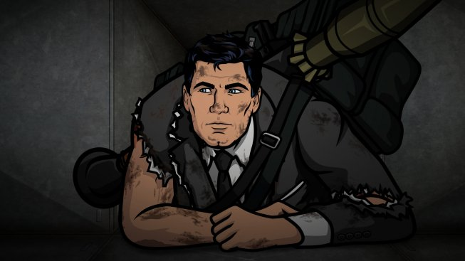 archers fear Archer Unveils Awesome, GTA Inspired Season 5 Poster