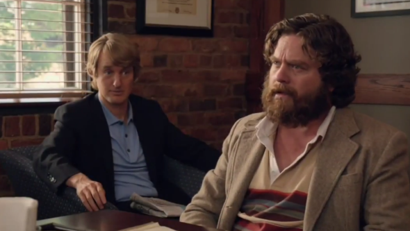 Owen Wilson Comforts Zach Galifianakis In Trailer For Are You Here