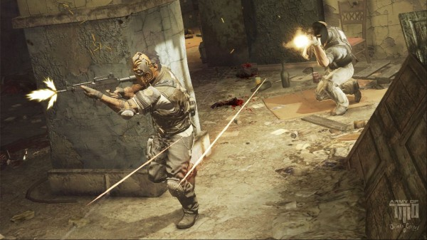 These New Army Of Two: The Devil's Cartel Screens Stress The Importance Of Teamwork