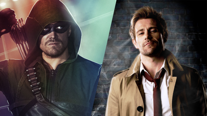 """Arrow Producer Marc Guggenheim Trumpets """"Exciting"""" Constantine Crossover In Season 4"""