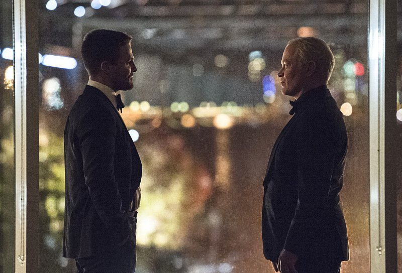 Oliver's Quest To Become Mayor Continues In Images From Next Week's Arrow
